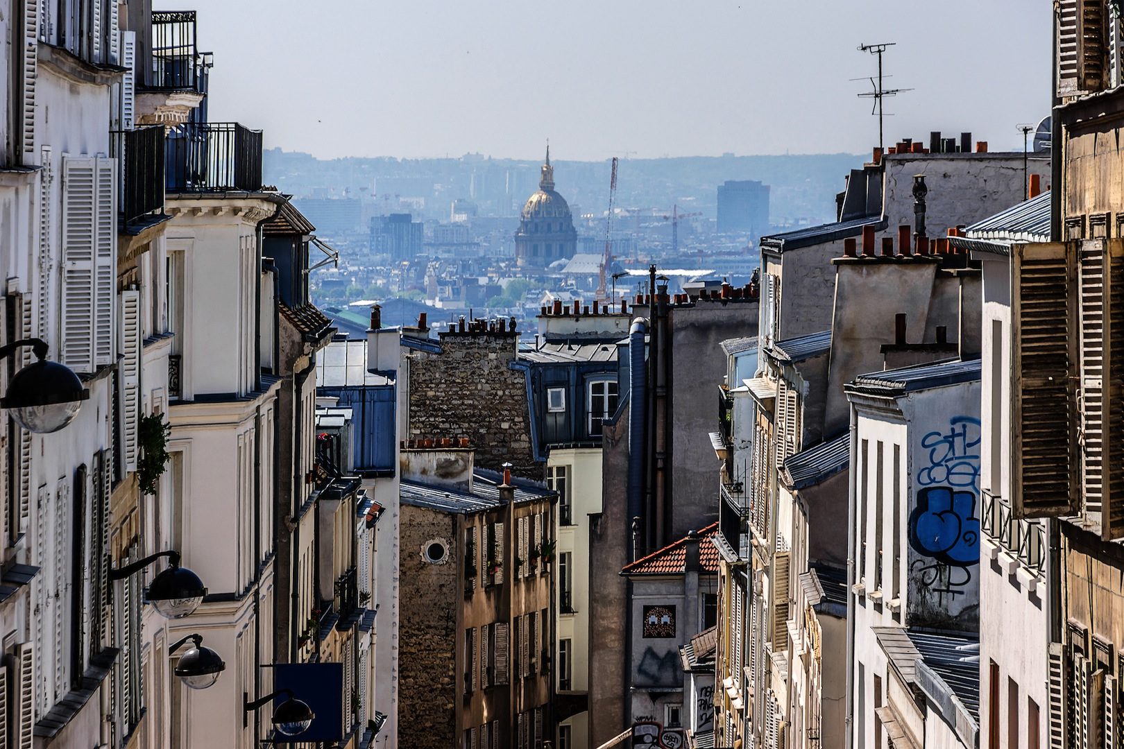 Montmartre, Bohemian quarter of Paris