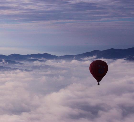 Barcelone tour mongolfiere