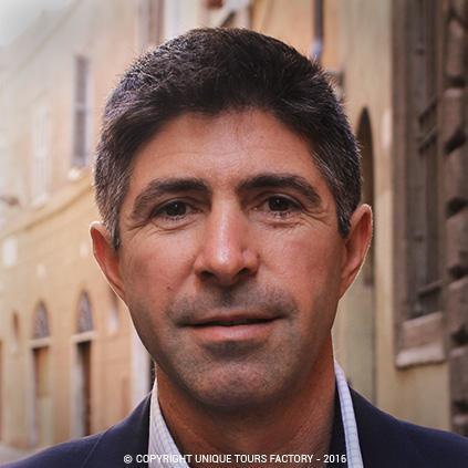 Carlo, private guide in Rome for UniqueToursFactory
