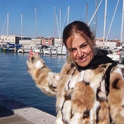 Deborah, private guide in Venice for UniqueToursFactory