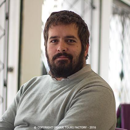 Enrique, private guide in Madrid for UniqueToursFactory
