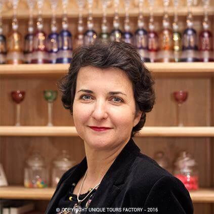 Marie-Bénédicte, private guide in Paris for UniqueToursFactory
