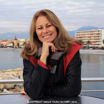 Sylvie, guide privée à Nice et sur le Côte d'Azur pour UniqueToursFactory