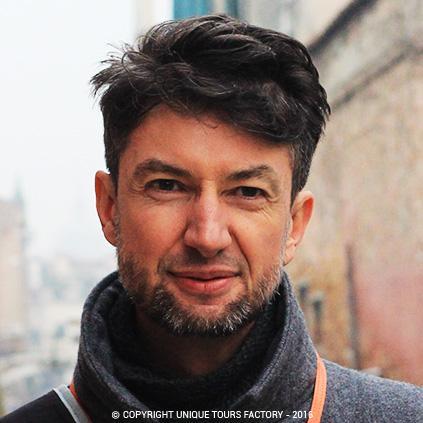 Walter, private guide in Venice for UniqueToursFactory