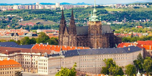 Private tour in Prague, castle.