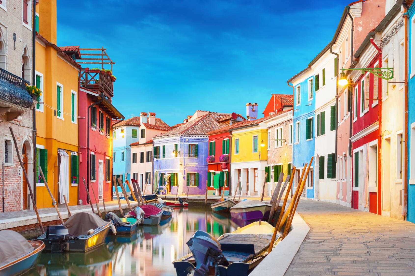 Les plus belles îles de la lagune Vénitienne