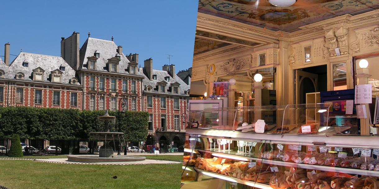 Private tour in Paris, Marais food and Markets tour