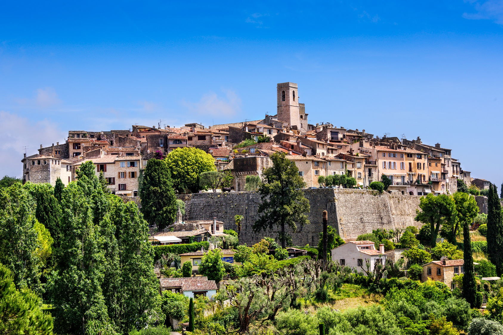 Saint Paul de Vence, a medieval village in France