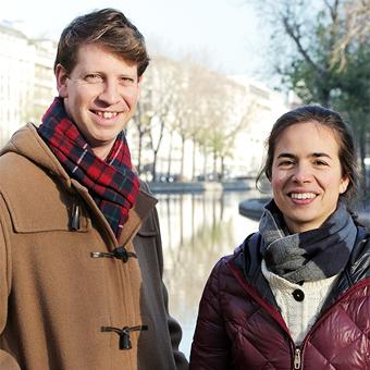 Adelaïde and Jack, private and professional local guides in Paris