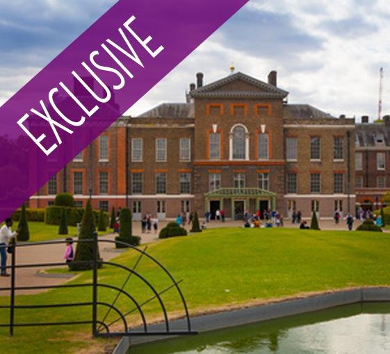 Private family tour of Kensington Palace with afternoon tea in London