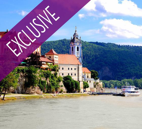 Private tour of the Danube river area departing from Vienna