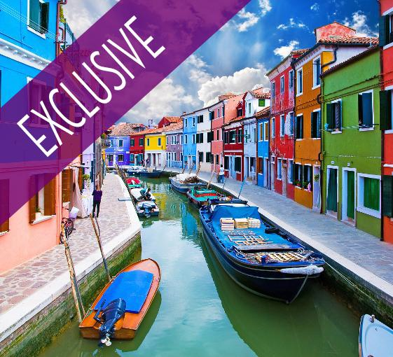 Private islands tour in Venice