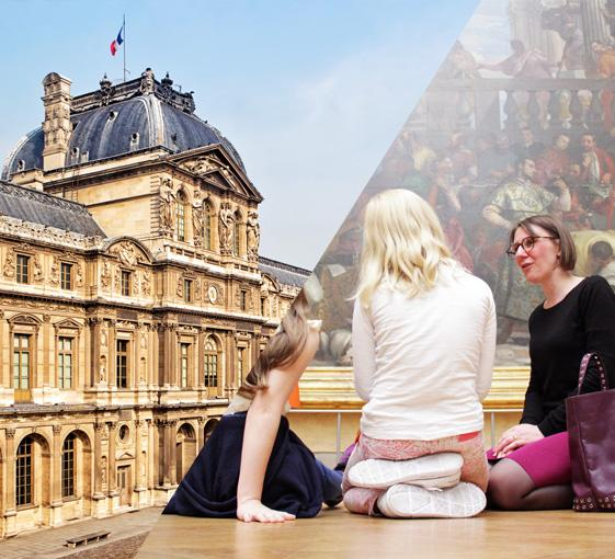 Private family Louvre tour with treasure hunt in Paris