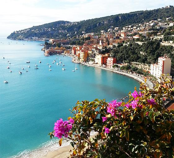 Private tour of corniche panoramic in French Riviera