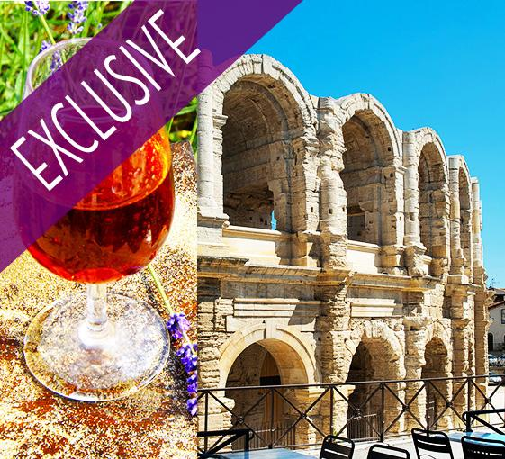 Private gastronomy tour and wine tasting in Arles near Marseille