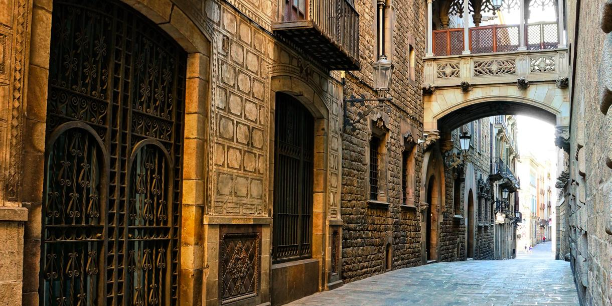 Private tour of the gotic quarter in Barcelona