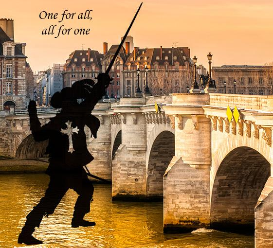 Private tour on Musketeers in Paris