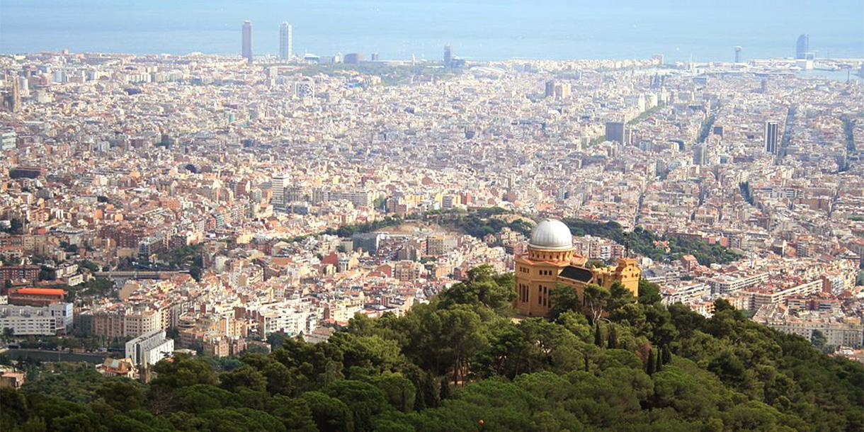 Private tour of panoramic tour in Barcelona