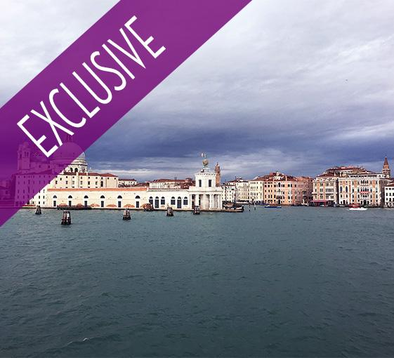 Private tour by boat in Venice with cooking class