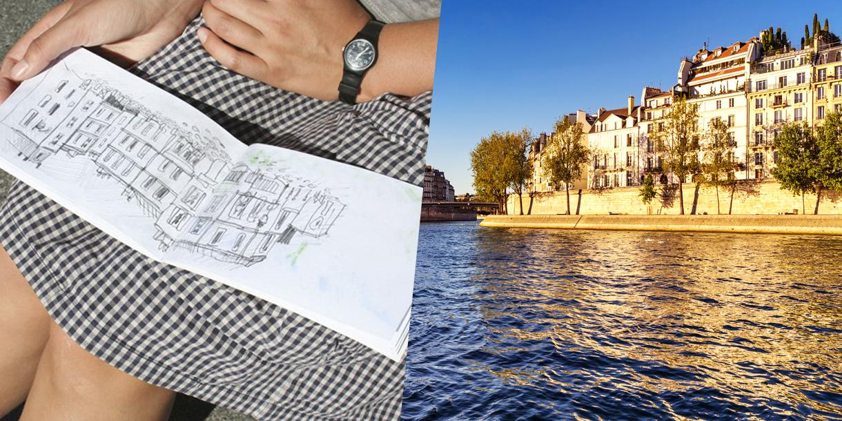 Private family art tour on Ile Saint Louis in Paris