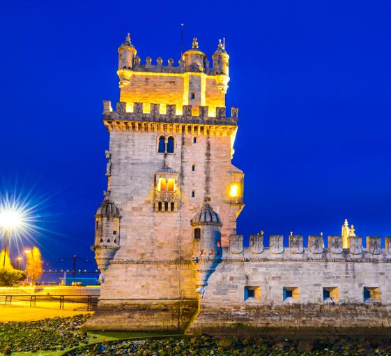 Private tour of Belém in Lisbon at night