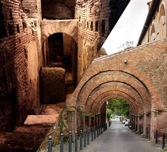 Private tour of underground ruins in Rome