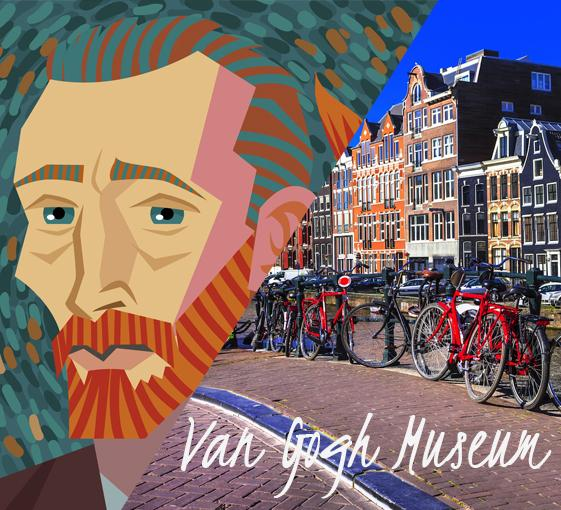 Private tour of Van Gogh museum in Amsterdam
