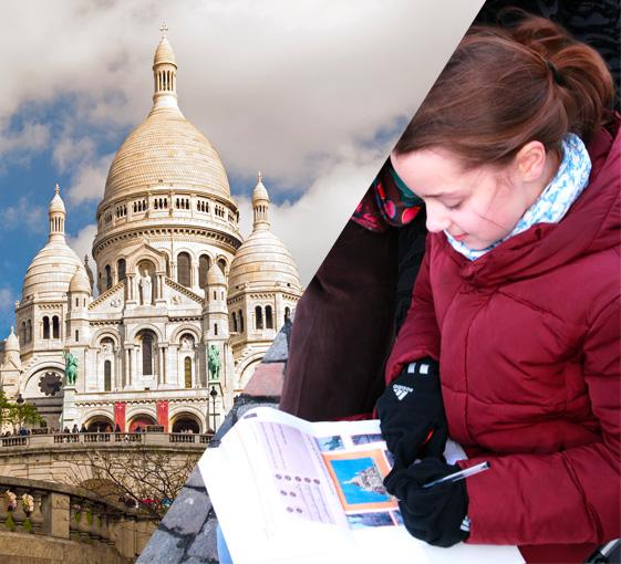 Private walking tour of Montmartre in Paris