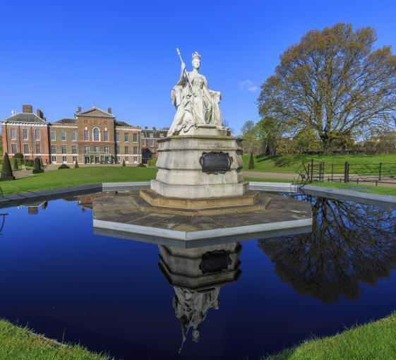 Private family tour of Kensington Palace in London