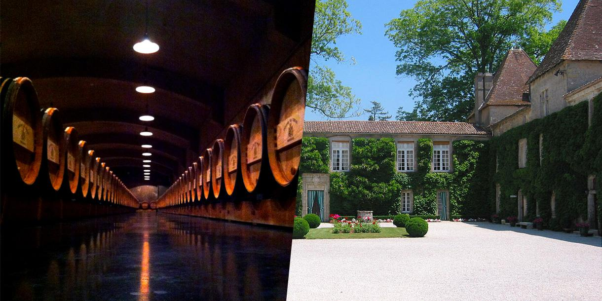 Private wine tasting tour in palaces around Graves in Bordeaux region
