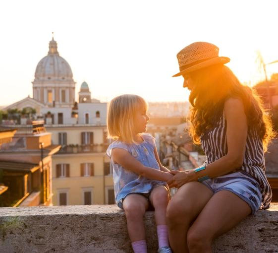 Private family tour of the best sightseeing spots in Rome