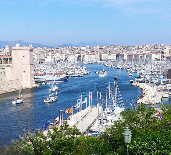 Private city tour in Marseille