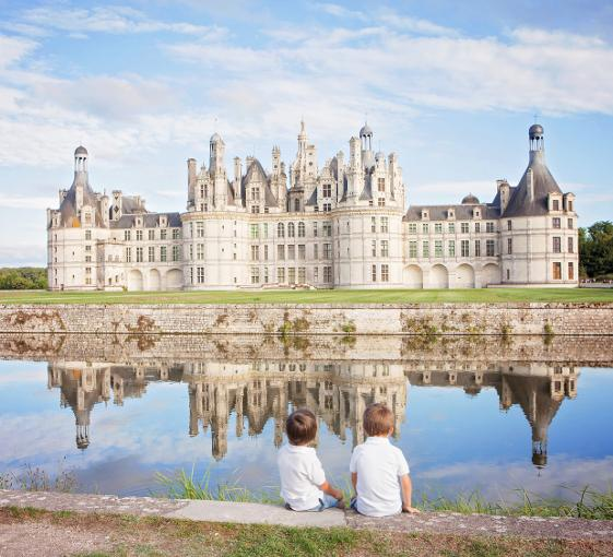 Private family tour of the Château de Chambord in the Loire Valley