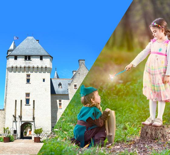 Private family tour of the Château de Rivau in the Loire Valley