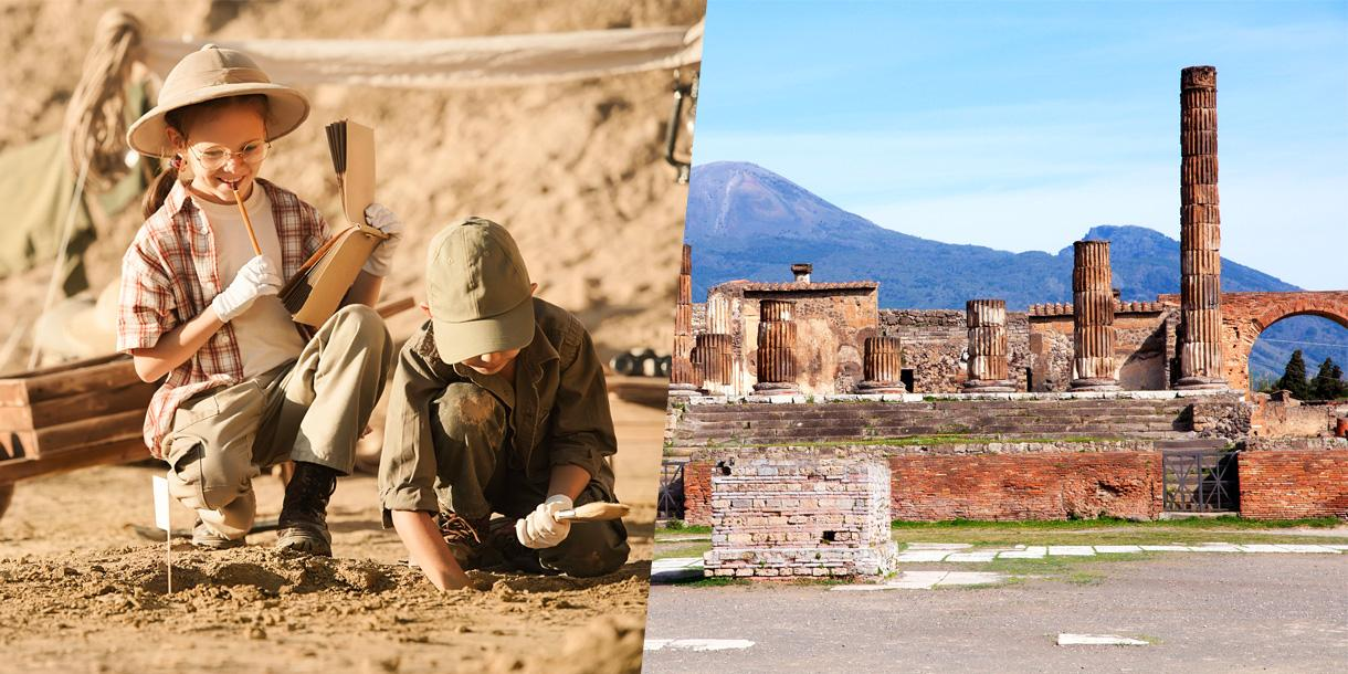 Private Pompeii family tour in Naples