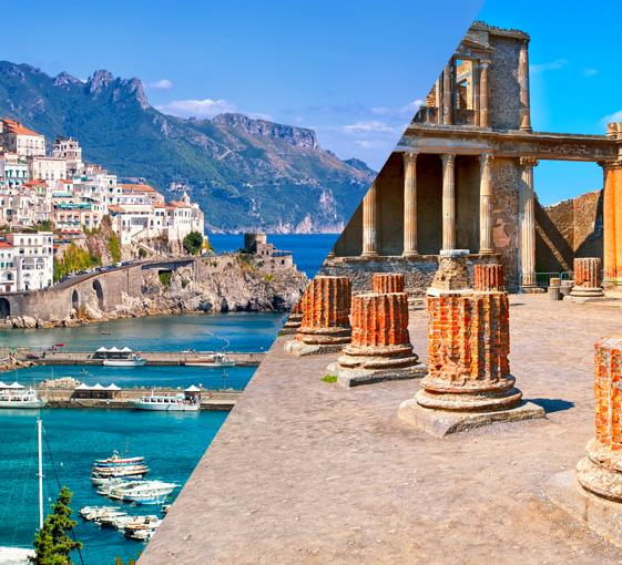 Private Pompeii and Amalfi tour in Naples