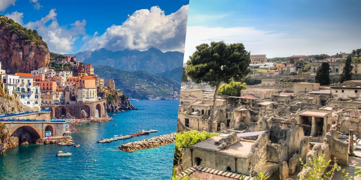 Herculanum And Amalfi Coast Tour Private Tour Utf