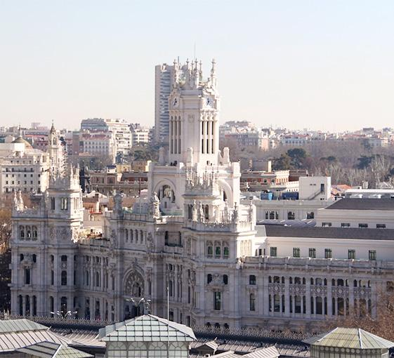 Private panoramic tour in Madrid