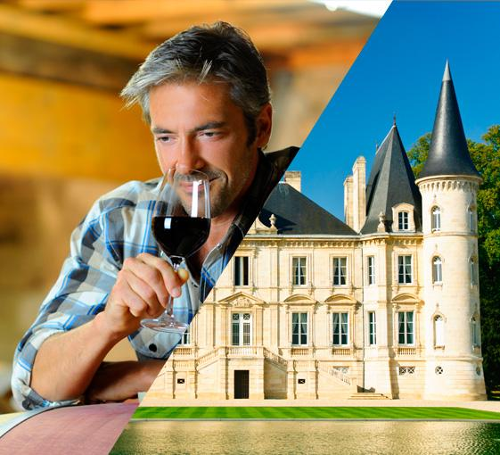 private wine tasting tour in castles and appellations of Bordeaux area