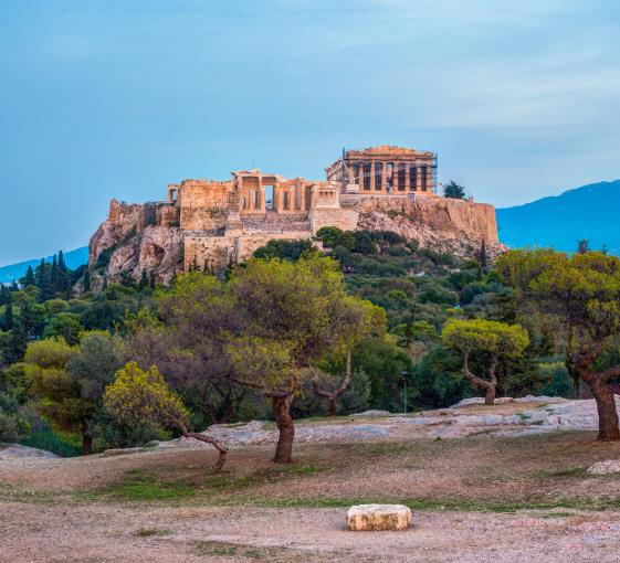 Private walking history tour in Athens