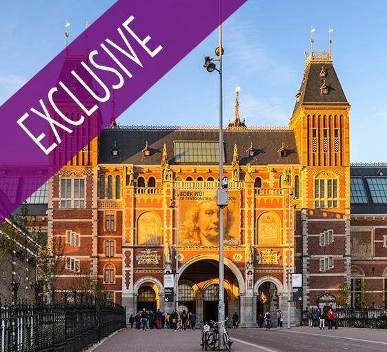 Private tour of Rijsksmuseum, art workshop and cruise on the canals