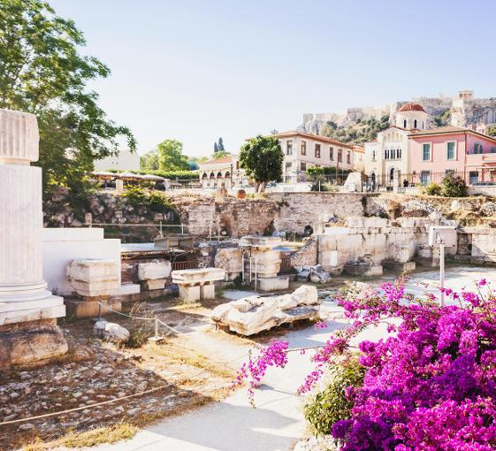 Private cultural, gastronomy and historical walking tour in Athens