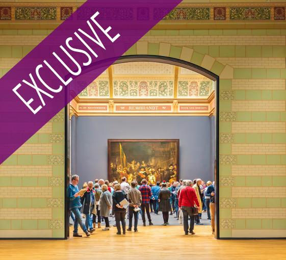 Private tour of Rijsksmuseum and stroll in the most beautiful places of Amsterdam
