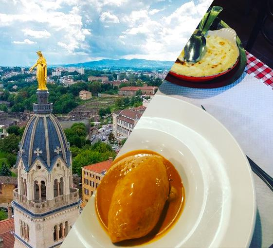 Private gastronomy and panoramic tour in Lyon