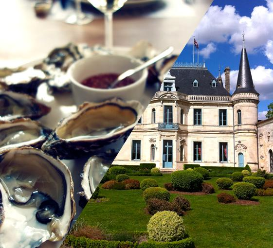 Private gastronomy and wine tasting tour around Bordeaux