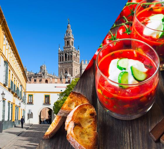 Private gastronomy walking tour in Seville