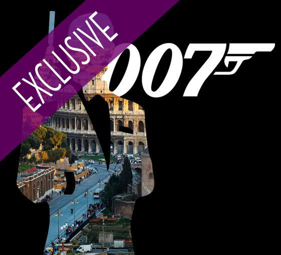 Private James Bond tour in Rome