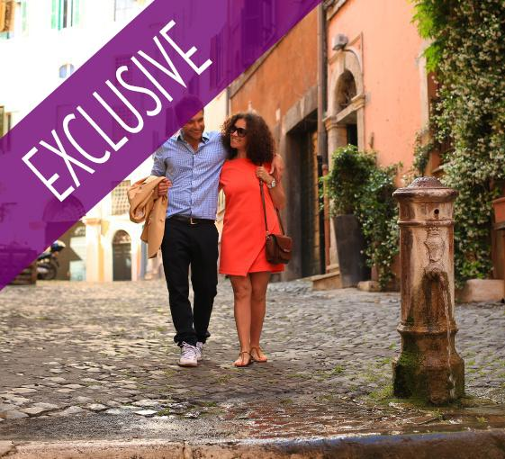 Private romantic tour in Rome