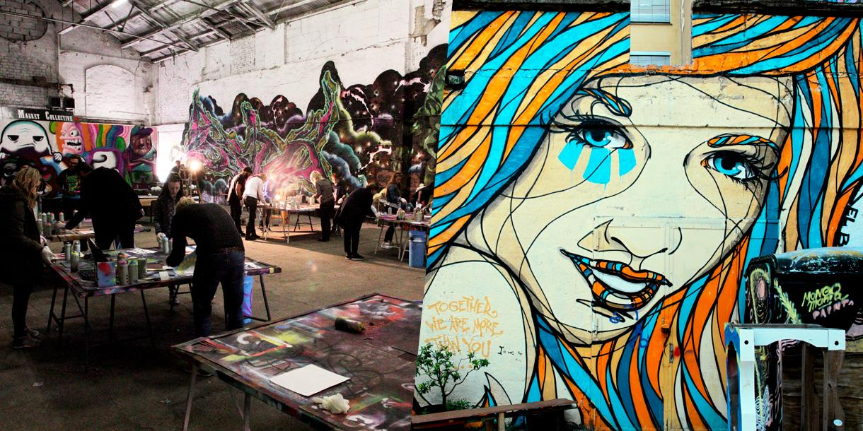 Private Street art tour and creative workshop in Berlin