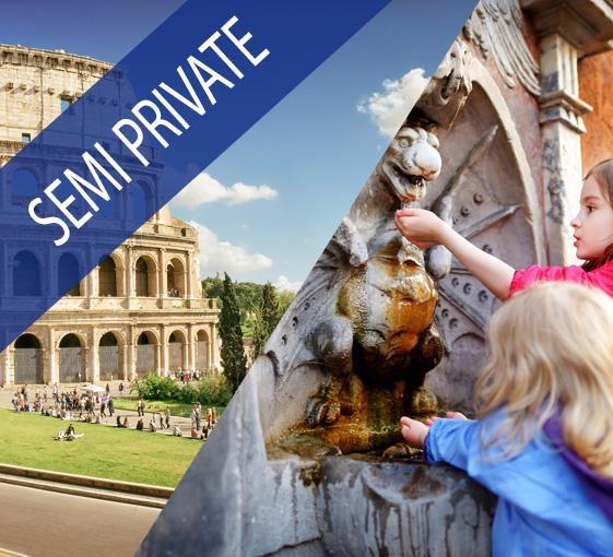 Private family tour of the Colosseum and Ancient Rome in Rome